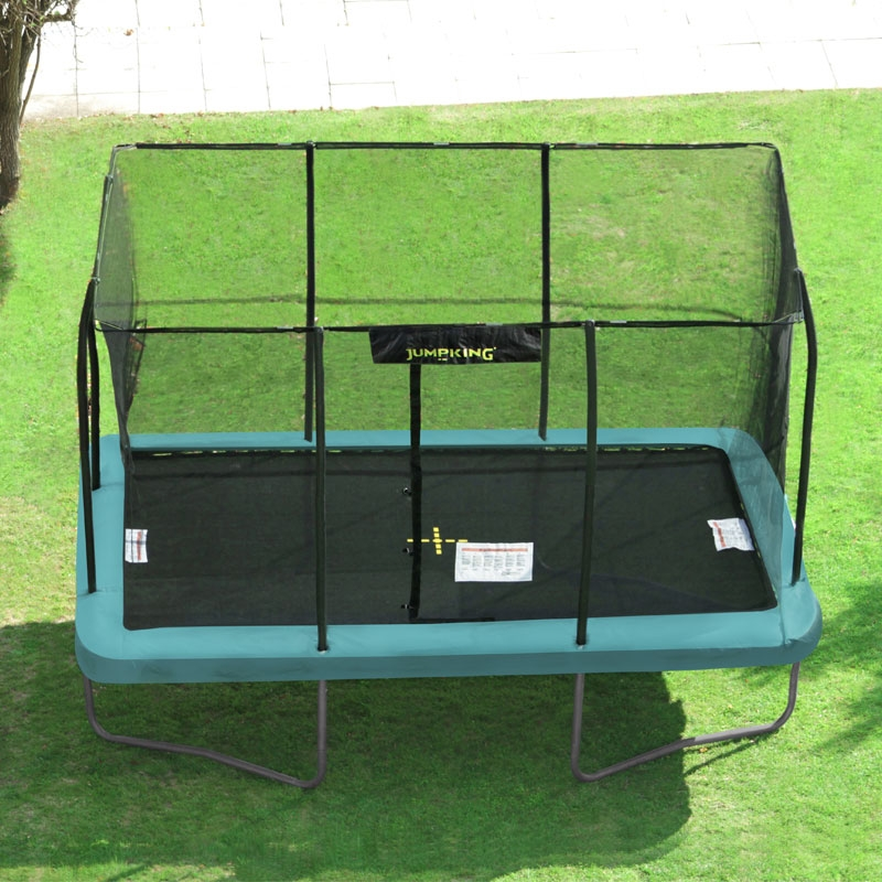 Jumpking 8ft X 12ft Rectangular Trampoline, All Round Fun