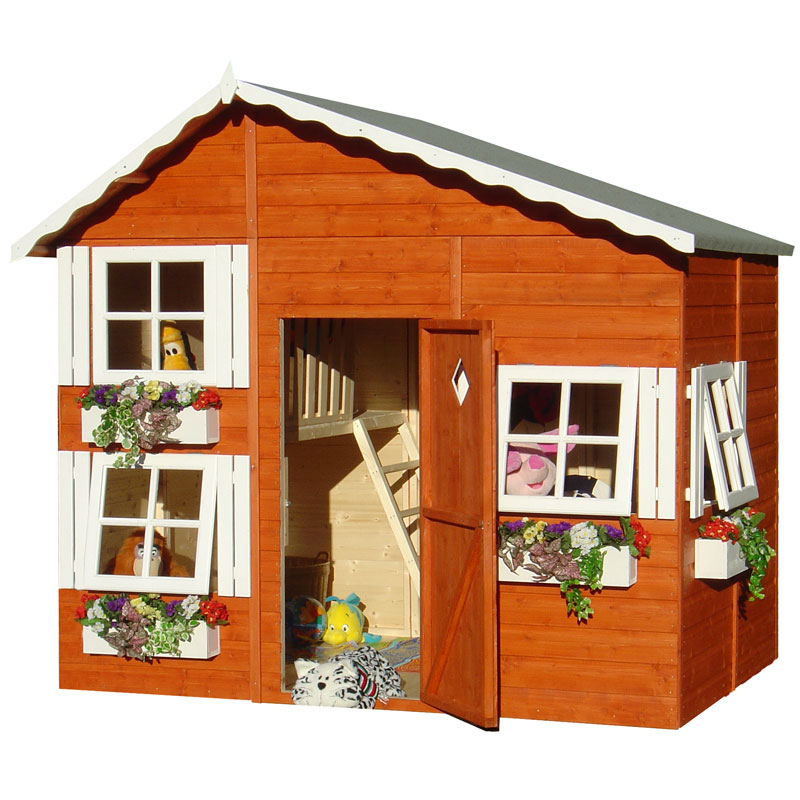 Shire loft playhouse cheap playhouses uk for Cheap outdoor playhouses