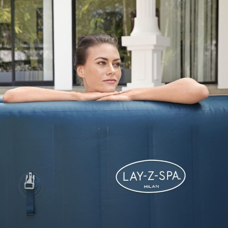 Lay-Z-Spa Milan Airjet Plus