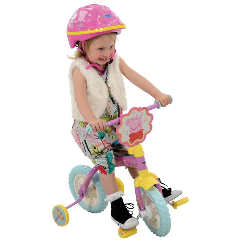 Peppa Pig 2in1 10inch Training Bike