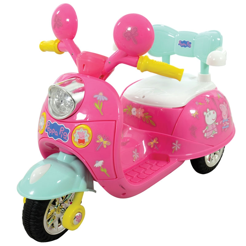 Peppa Pig 6V Battery Powered Motorbike
