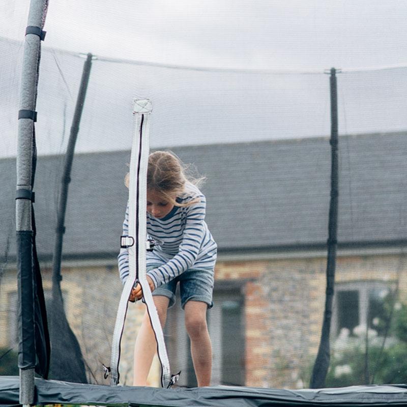 12 Foot Trampoline By Jumpsport: Plum Magnitude 12ft Trampoline