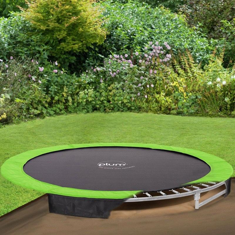plum 8ft in ground trampoline plum in ground trampoline 8ft all round fun. Black Bedroom Furniture Sets. Home Design Ideas