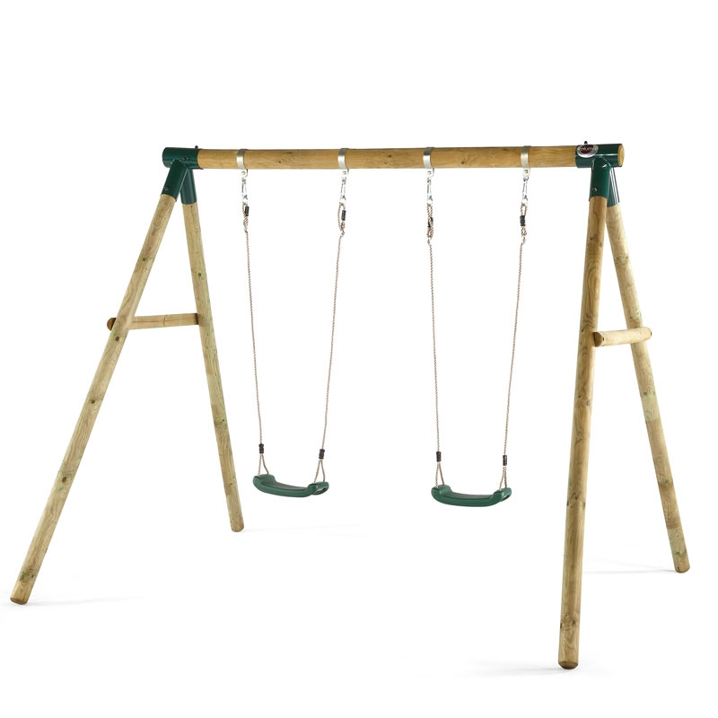 Plum MARMOSET Wooden Swing Set | All Round Fun