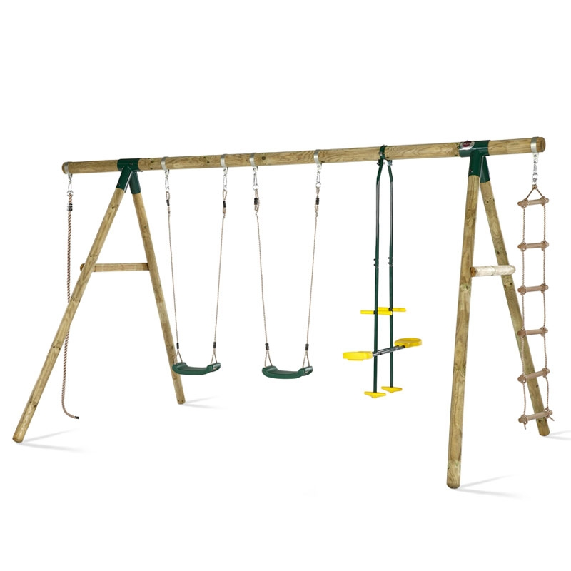 plum orang utan wooden swing set