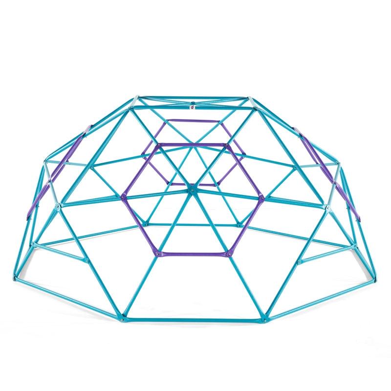plum phobos 10ft metal dome  teal/purple