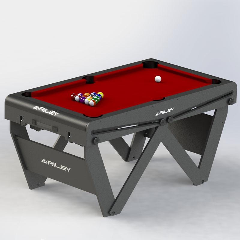 Riley 5ft W Leg Pool Table