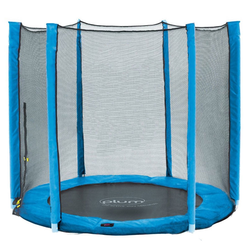 plum 5ft junior external trampoline net blue(net only)