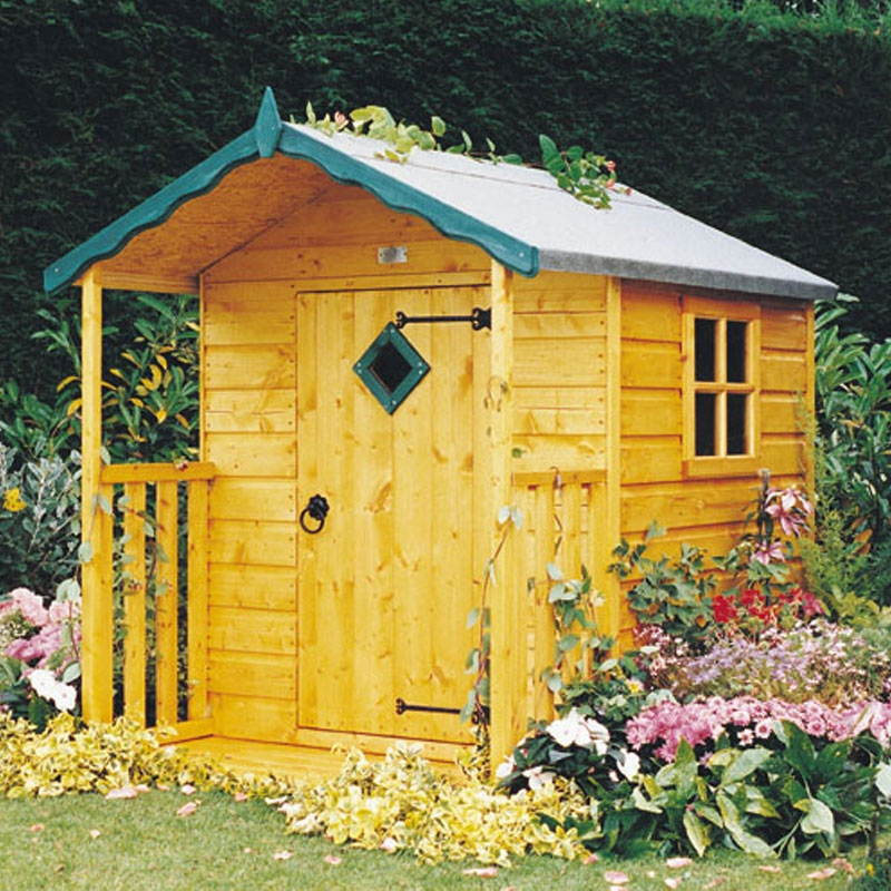 Wooden playhouses cheap playhouses uk for Cheap outdoor playhouses