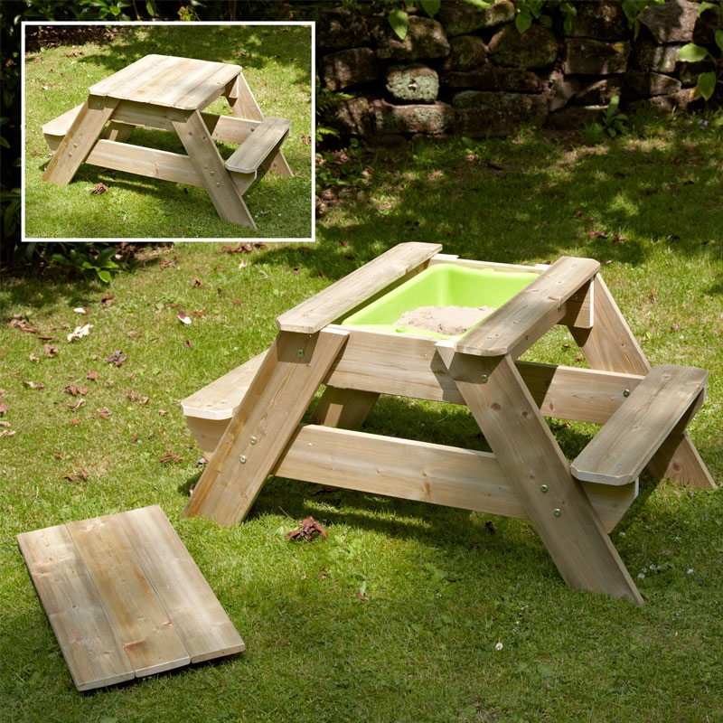 TP Toys Early Fun Picnic Table Sandpit