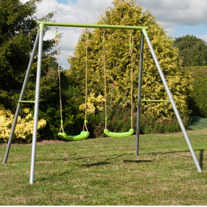Tp Toys Metal Double Swing All Round Fun