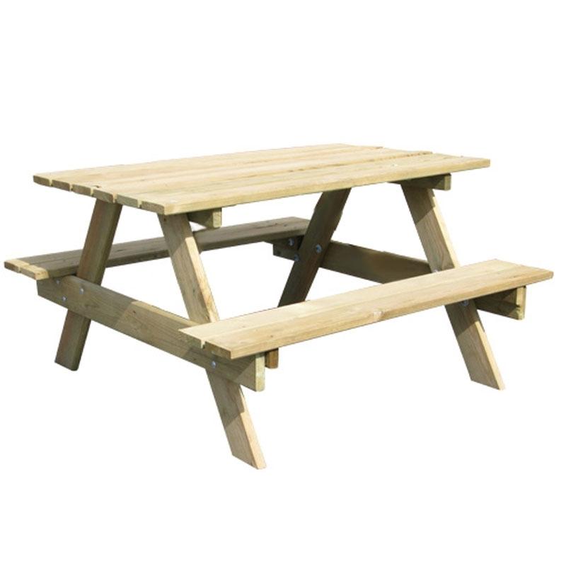 Trigano jardin picnic table all round fun - Table trigano ...