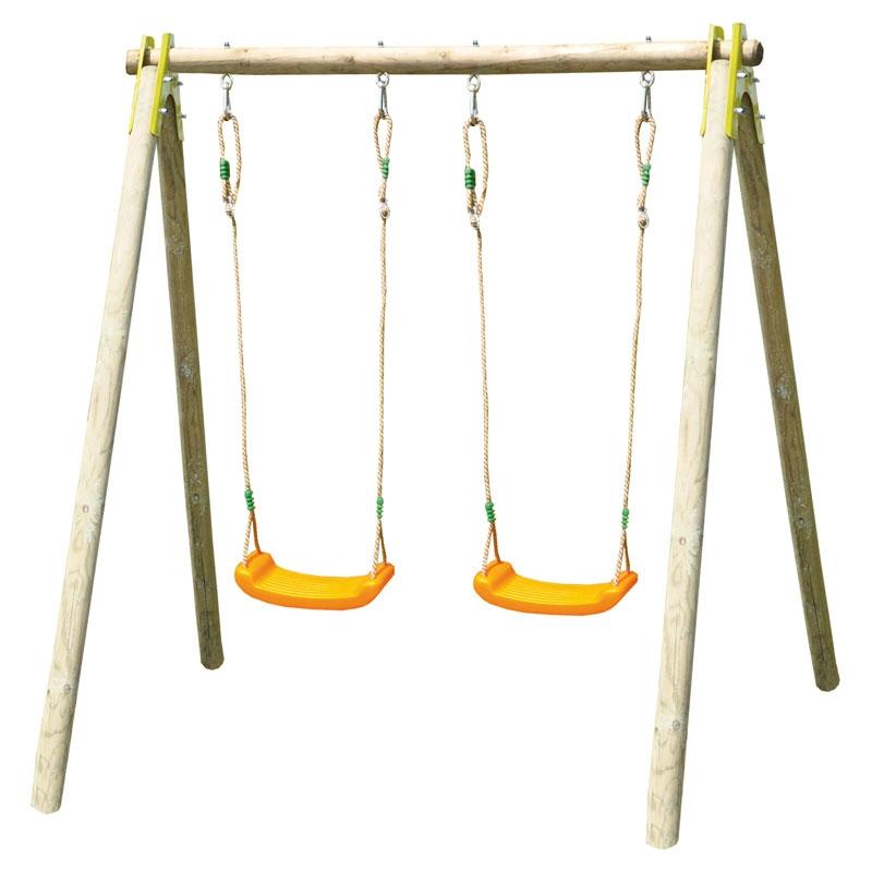 Trigano Jardin Alfy Double Swing Set All Round Fun