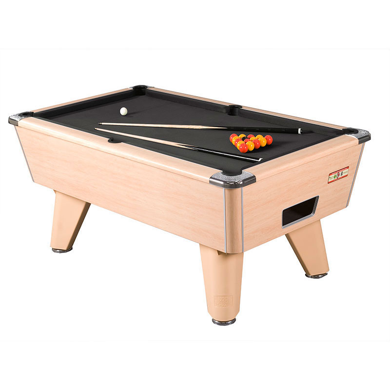 Supreme Winner 8ft Slate Bed Pool Table (Beech)