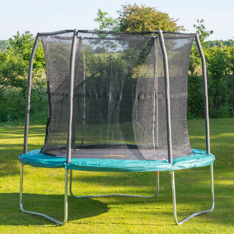 Jumpking Air Bounder 8ft Combo Trampoline , All Round Fun
