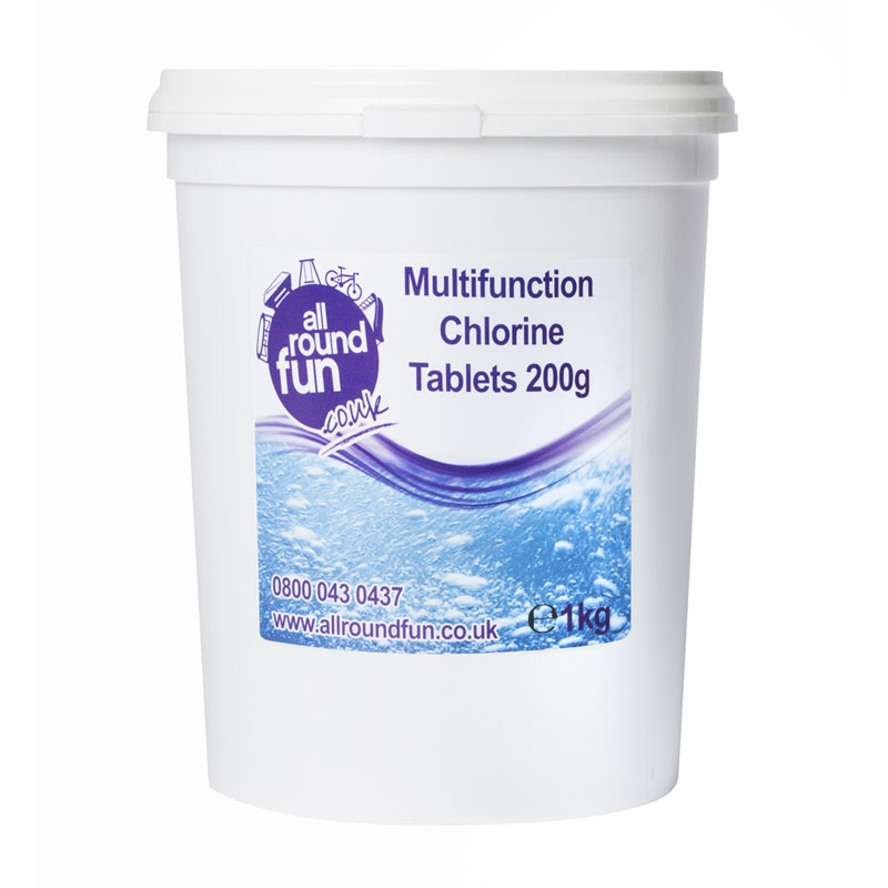 Image of ARF 200g Multi Function Chlorine Tabs - 1kg