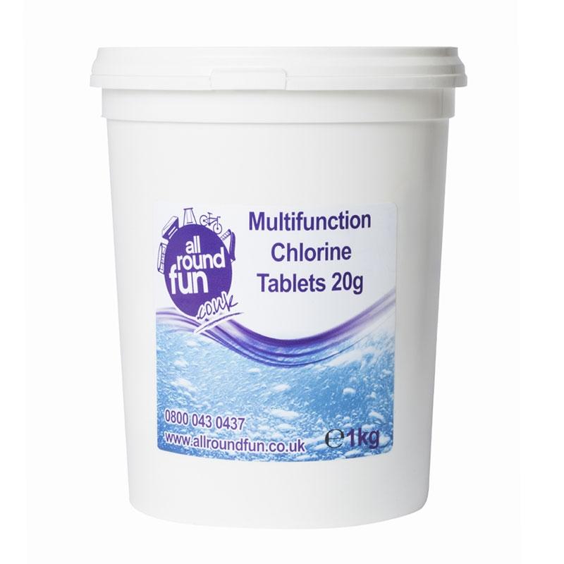 Image of ARF 20g Multi Function Chlorine Tabs - 1kg
