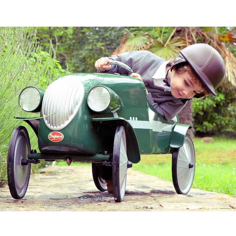 baghera le mans green pedal car 1924v all round fun. Black Bedroom Furniture Sets. Home Design Ideas