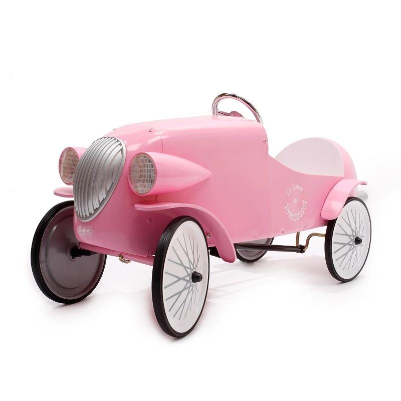 Image of Baghera Le Mans Pink Pedal Car 1924R