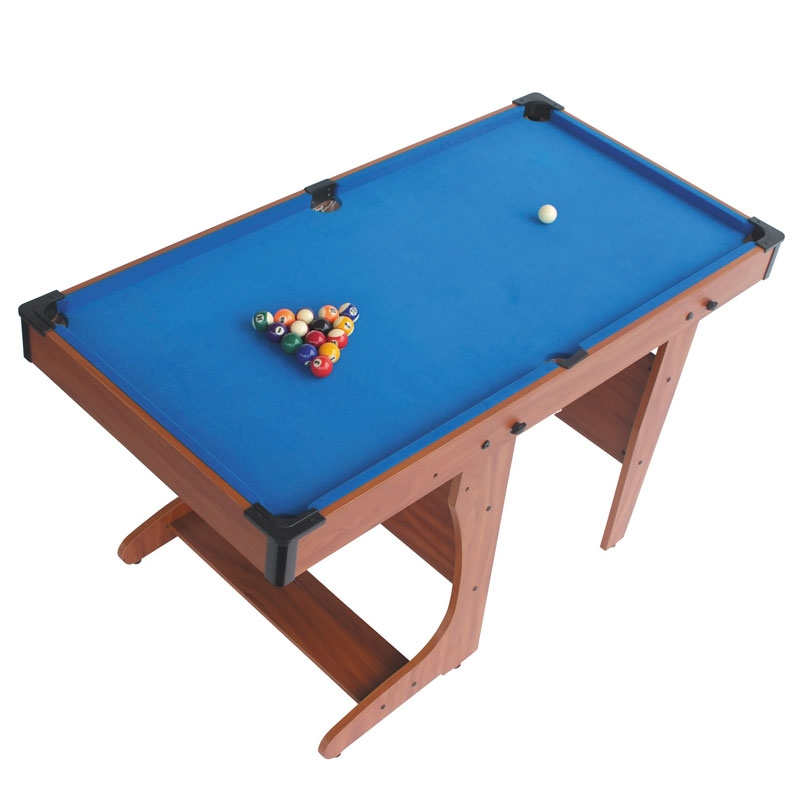 BCE 4ft6 Clifton FOLDING Pool Table PT2046D + Free Gift!