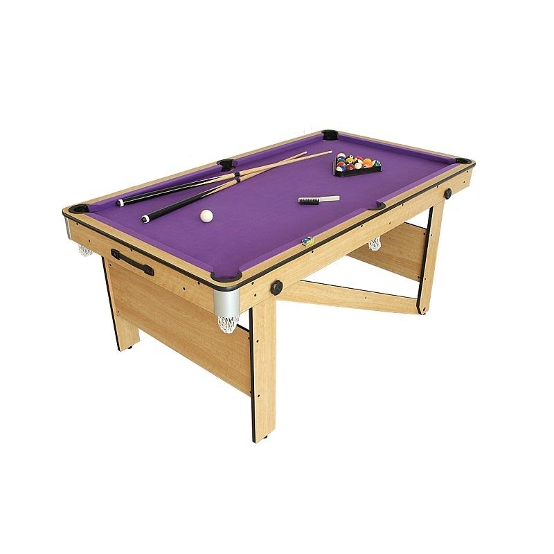 6ft Folding Pool Table Bce Lay Flat