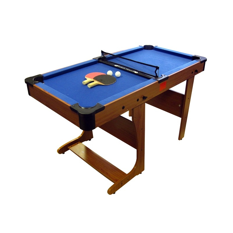 Bce 6ft clifton folding pool table pt206d riley clifton for Circular pool table
