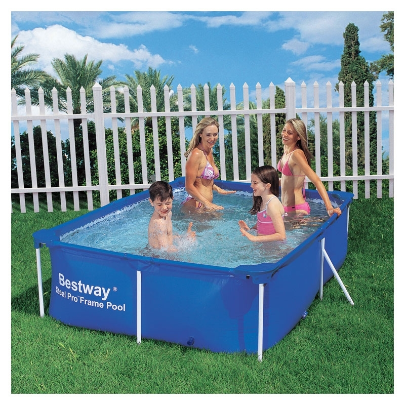 bestway 7ft 10 splash junior frame pool all round fun. Black Bedroom Furniture Sets. Home Design Ideas