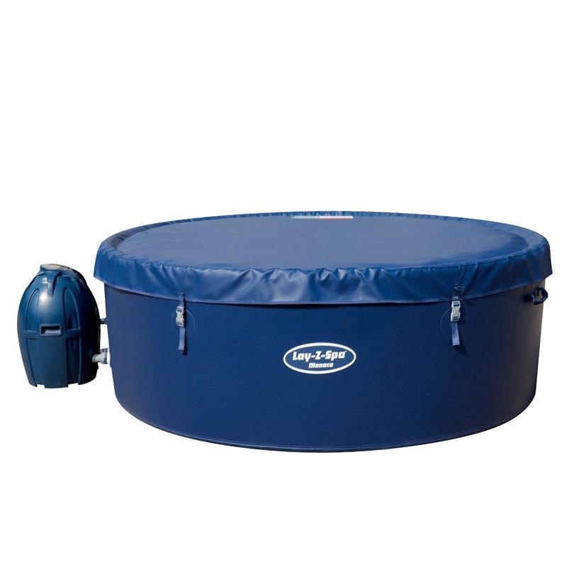 lay z spa monaco 6 8 person rigid wall hot tub all round fun. Black Bedroom Furniture Sets. Home Design Ideas