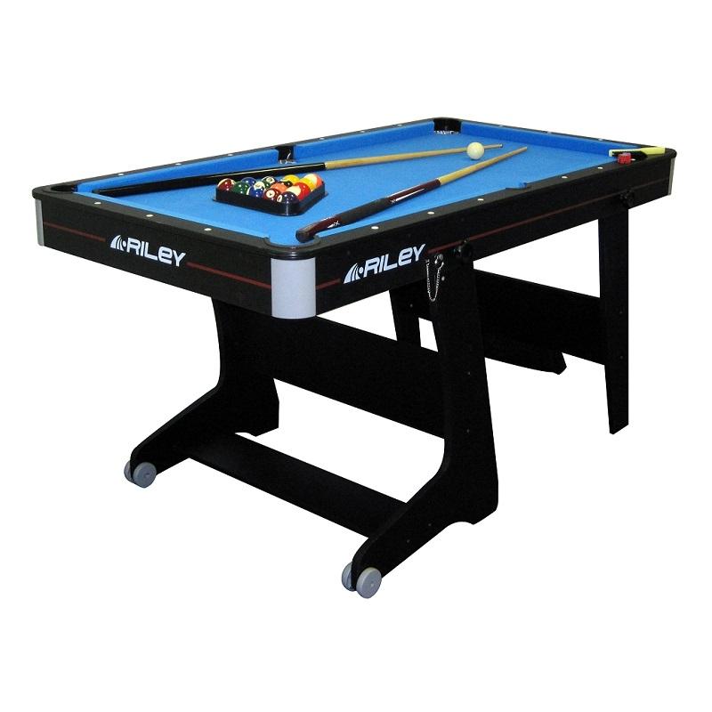 Riley 5ft Folding Pool Table FP5B+