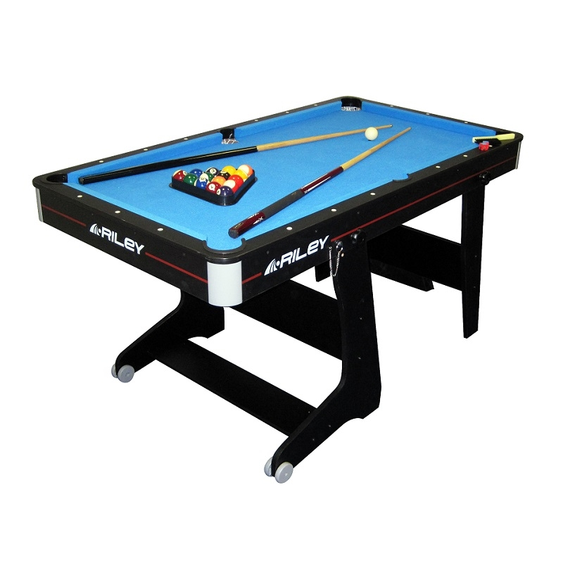 Riley Fp5b 5ft Folding Pool Table All Round Fun